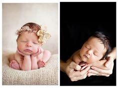 Ideas para fotografia de bebés