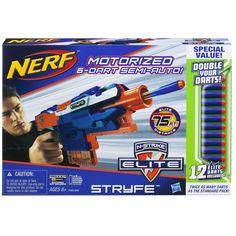 Amazon.com: Nerf N-Strike Elite Stryfe Double Your Darts Blaster: Toys & Games