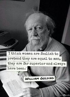 William Golding, author of Lord of the Flies, who admitted to having attempted to rape a girl when he was 18.