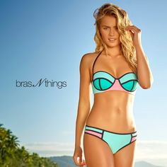 Ready. Set. Summer – Bras N Things' new swimwear collection has arrived in-store! Offering on-trend colour block bikini sets from just $69.99 and Bras N Things metallic temporary tattoos $9.99 with any swim purchase, hurry in to Bras N Things today!