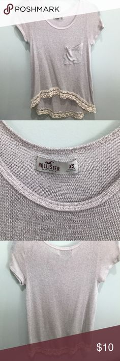 Holister boho top Gently used. Soft material, relaxed fit. Smoke free home Hollister Tops Blouses