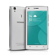 """awesome Doogee X5 MAX - Smartphone móvil libre (Android 6.0, Pantalla 5.0"""", Quad Core, 8GB ROM, 1GB RAM, Dual SIM, Sensor de huellas dactilares)"""