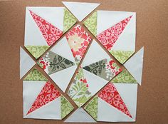 Solstice Star Series : Star of Mystery — Fresh Lemons Modern Quilts