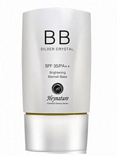 Heynature - Aqua Blast BB Cream Silver Crystal SPF35/ PA   (40g) * Find out more about the great beauty product at the image link.