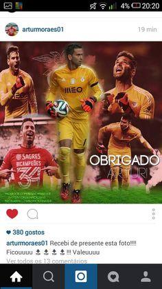 Um enorme orgulho por parte da nossa equipa após o Rei @arturmoraes1 ter publicado a nossa foto. Obrigado!