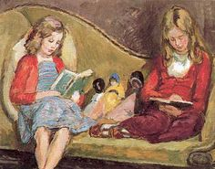 Amaryllis et Henrietta – Vanessa Bell – 1952
