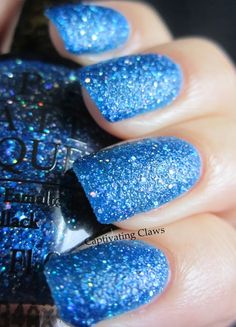 Captivating Claws- OPI Liquid Sand.  This is Get Your Number