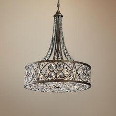 "Amherst 6-Light 20"" Wide Antique Bronze Pendant Light - #2H542 | LampsPlus.com  $1299  29hx20w"