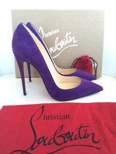 Christian Louboutin Shoe Pump Violet Pumps