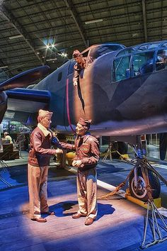 The Doolittle Raiders memorial at USAF Museum Wright Patterson AFB