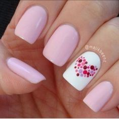 Cute pink nails to have