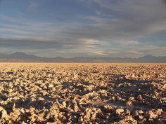 Sonnenuntergang im Salar de Atacama - Deserto de Atacama – Wikipédia, a enciclopédia livre