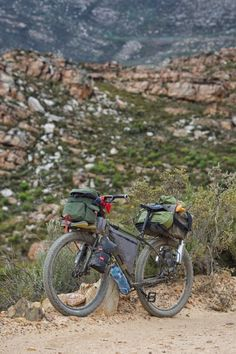 Surly ECR - Off Road Bike Touring - South Africa. I'm really coming around on fat bikes and should try one.