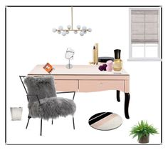 """""""ʙᴇᴀᴜᴛʏ ʀᴏᴏᴍ ɪᴅᴇᴀs"""" by overdose-onstyle ❤ liked on Polyvore featuring interior, interiors, interior design, home, home decor, interior decorating, Mitchell Gold + Bob Williams, Deborah Lippmann, MAC Cosmetics and Forever 21"""