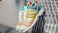 #adidas ZX Flux Rainbow Feather #sneakers