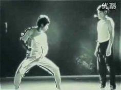 Bruce Lee's amazing Kung Fu fire the match video