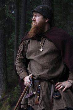 Viking wool rectangle cloak in diamond twill historial reenactment cloaks viking age handmade Viking Garb, Viking Reenactment, Viking Men, Viking Costume, Renaissance Costume, Viking Clothing, Historical Clothing, Viking Braids, Tablet Weaving
