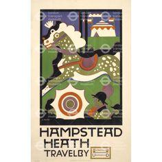 Hampstead Heath - Charles Paine (1922)