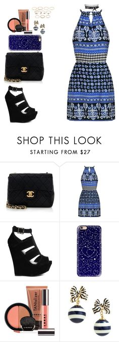 """""""Untitled #30"""" by eduardafrancisca69 ❤ liked on Polyvore featuring Chanel, Truffle, Casetify, LORAC, Kate Spade and Forever 21"""