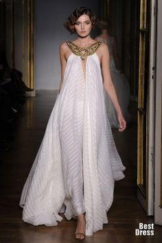 White Egyptian Wedding Dress