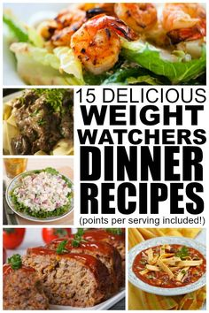 If youre looking for weight watchers recipes with points that are delicious and easy to make, this collection of 25 weight watchers recipes are just what you need to help you lose weight without feeling like youre missing out. Ive included the number of weight waters points/pointsplus per serving for all 25 of these dinner recipes, and I really hope this collection of dinner ideas helps on your quest for a healthier (and skinnier!) 2015!