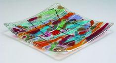 Fused Glass Art Projects | ... .com - AMACO Lesson #18 - Warm Glass Renaissance using glass kilns