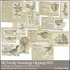 My Family Genealogy Clippings No. 02