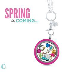 Origami Owl Spring 2014 #springlocket