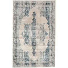 nuLOOM Oriental Vintage Viscose Persian Ivory Area Rug (5'2 x 8') - Overstock™ Shopping - Great Deals on Nuloom 5x8 - 6x9 Rugs