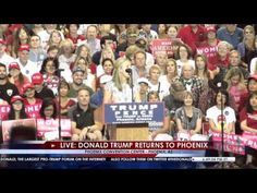13 Yr. Old Faith Graham Delivers Epic Takedown of Hillary Clinton at Trump Phoenix Rally - YouTube