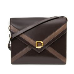 d751352455 Delvaux Dark Brown Cross Body (LabelLOV) Your go-to shopping place for  vintage   pre-loved designer luxury.