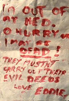 eddie's letter #rockyhorror