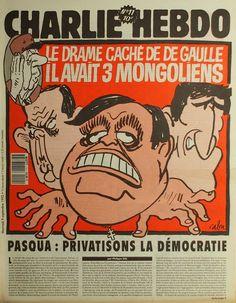 Charlie Hebdo - N° 11 - Mercredi 9 Septembre 1992 - Couverture de Cabu