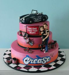 Grease cake
