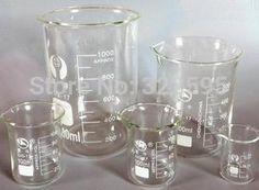 Di alta qualità bicchiere di vetro vetreria di laboratorio