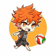 Lol Hinata looks like hes about to kick the ball
