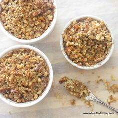 Wholefood Simply Apple Crumble #WholefoodSimply