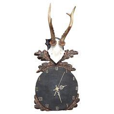 Zegar ręcznie wykonany w drewnie