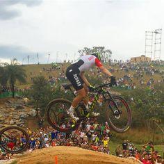 El pasado domingo se celebró en Río de Janeiro la prueba de bicicleta de montaña…