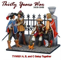 First Legion Toy Soldiers - Thirty Years War