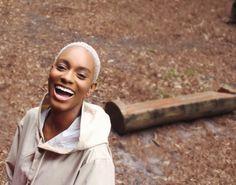 Petit afro décoloré Twa Hairstyles, Natural Afro Hairstyles, Natural Hair Care, Natural Hair Styles, Short Hair Styles, Hair Dye Colors, Hair Color, Barbers Cut, Short Afro