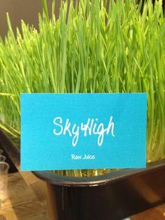 フォトグラファーのマミ・キーナンさんがオープンさせたオーガニックジュースバー「Sky High」のオープニングレセプションで、ロージュースたくさん飲んで、美味しくデトックス!渋谷区渋谷2-3-4