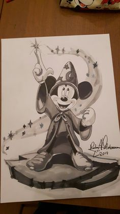 Mickey Mouse • The sorcerer's apprentice • Fantasia