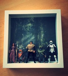 Star Wars Bilderrahmen