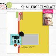 Quality DigiScrap Freebies: Template freebie from Pink Reptile Designs