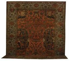 Sultanabad Carpet, West Persia, last quarter 19th century,  14 ft. by 11 ft.    Skinner Auctioneers Sale 2192