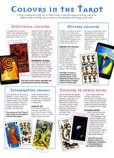 Colours in the Tarot