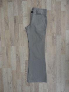 Pantalon de vestir gris #ayres #PocoUso #ModaSustentable. Compra esta prenda en www.saveweb.com.ar!