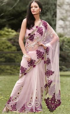Go Girlies ! » Ultimate stop for all your Girly Stuff ! » Light pink saree