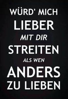 'Würd mich lieber mit dir streiten als wen anders zu lieben' - Casper // #liebe #er.immer.er~